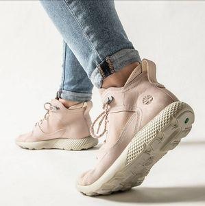 New Timberland Flyroam Sneaker Boot Light Pink